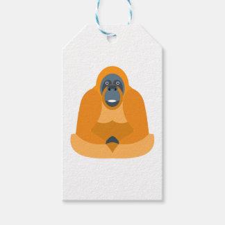 Cute monkey gift tags