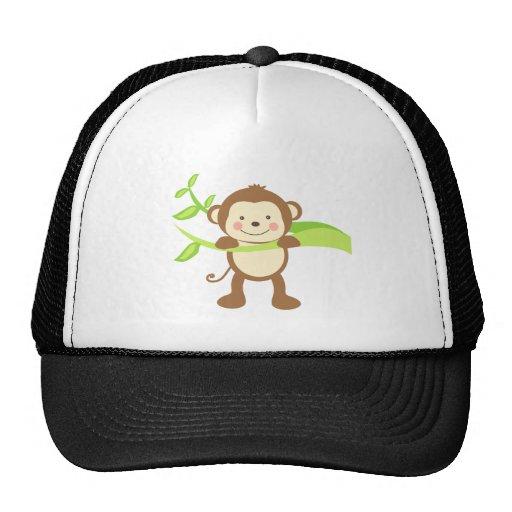 Cute Monkey Mesh Hats