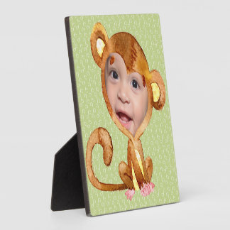 Cute Monkeyshines Plaque