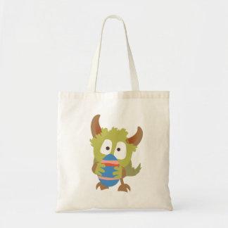 Cute Monster Easter Bag! Tote Bag
