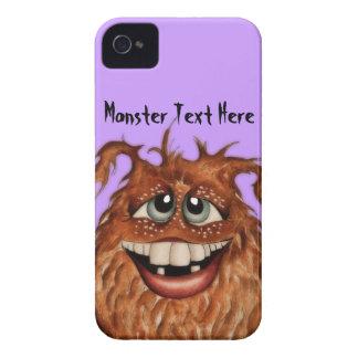 Cute Monster Face Blackberry Case