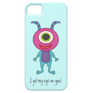 Cute Monster-Got my eye on you! iPhone 5 Case