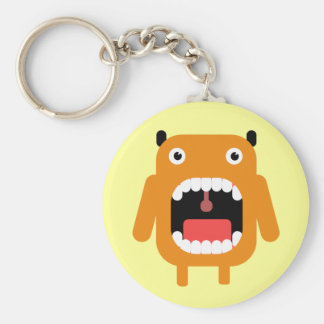 Cute Monster Keychain