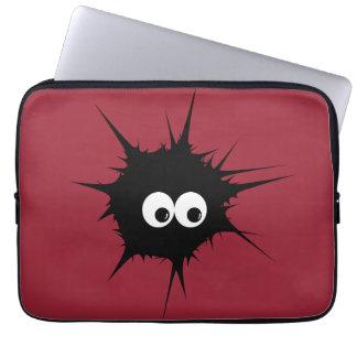 Cute monster laptop computer sleeves