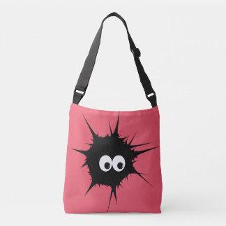 Cute monster tote bag