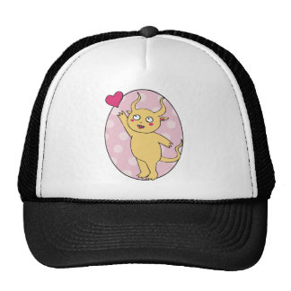 Cute Monster Valentine Hats