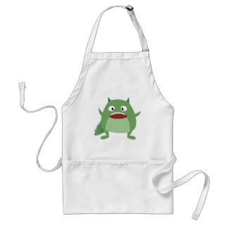 Cute Monsters! Adult Apron