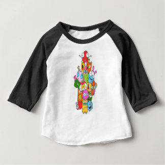 Cute Monsters Baby T-Shirt