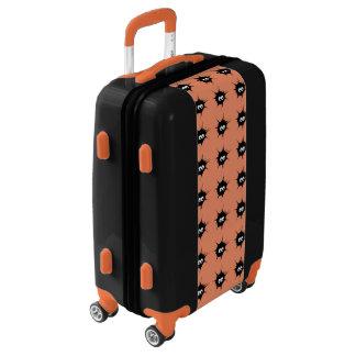 Cute monsters luggage
