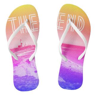Cute montauk beach sandals