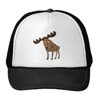 Cute moose cap