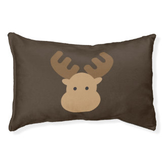 Cute Moose Pet Bed