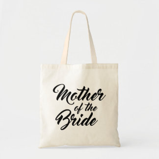 Cute Mother of the bride favour tote bag