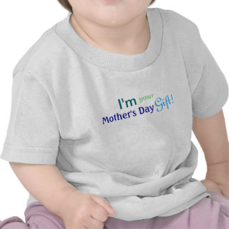 Cute Mother's Day Gift - Blue Shirt