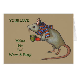 Cute Mouse Art: Anniversary Card For Spouse