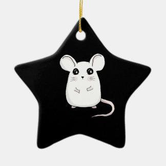 Cute Mouse Ceramic Ornament