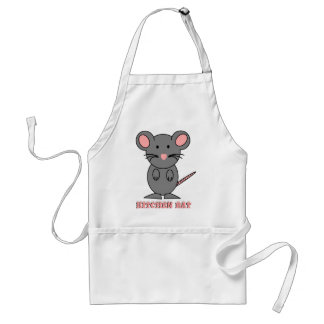CUTE MOUSE GIFTS - BIG MOUSE RAT  SWEET PET GIFT STANDARD APRON