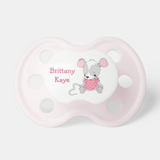 Cute Mouse Girls Personalized Dummy