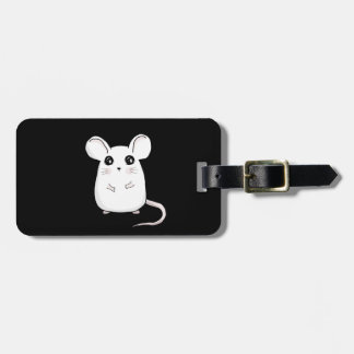 Cute Mouse Luggage Tag