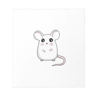 Cute Mouse Notepad