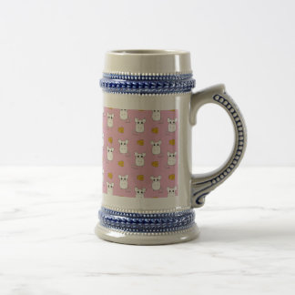 Cute Mouse pattern Beer Stein