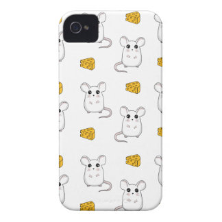 Cute Mouse pattern Case-Mate iPhone 4 Case