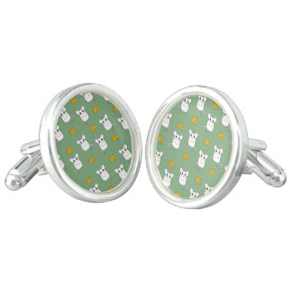 Cute Mouse pattern Cuff Links