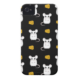 Cute Mouse pattern iPhone 4 Case