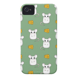 Cute Mouse pattern iPhone 4 Case-Mate Case
