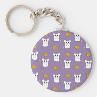 Cute Mouse pattern Key Ring