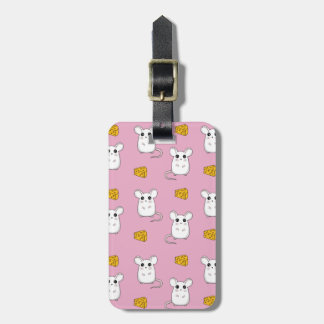 Cute Mouse pattern Luggage Tag