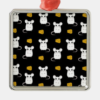 Cute Mouse pattern Metal Ornament