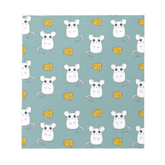 Cute Mouse pattern Notepad