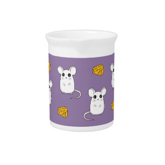 Cute Mouse pattern Pitcher