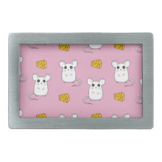 Cute Mouse pattern Rectangular Belt Buckle