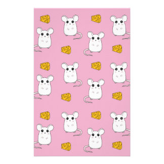Cute Mouse pattern Stationery
