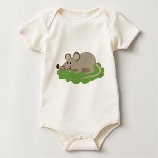 cute mouse rat baby bodysuit