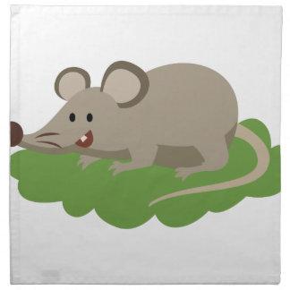 cute mouse rat napkin