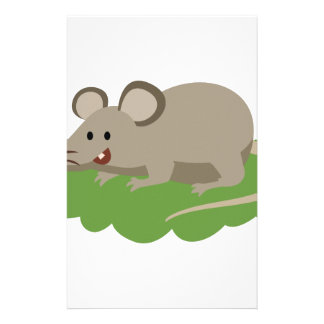 cute mouse rat stationery