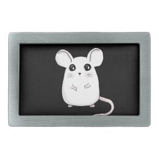 Cute Mouse Rectangular Belt Buckles