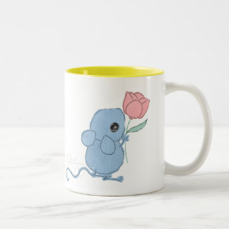 Cute Mouse with Tulip Collector Mug AngelArtiste