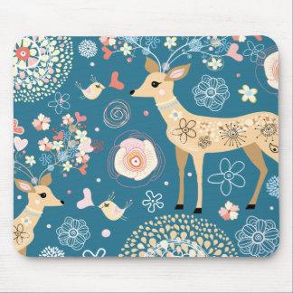 Cute mousepad, deer mouse pad