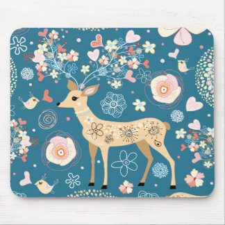 Cute mousepad, deer mouse pad