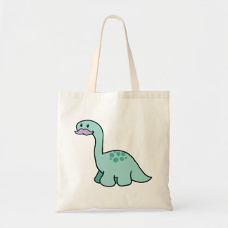 Cute Moustache Dinosaur Bags