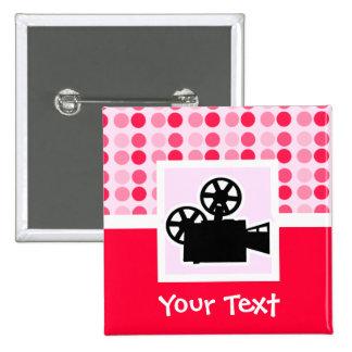 Cute Movie Camera Buttons