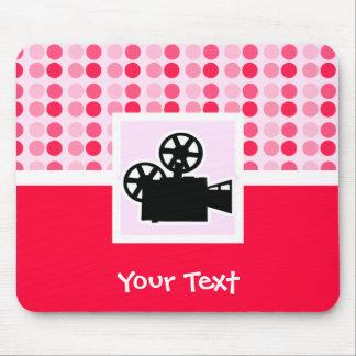 Cute Movie Camera Mouse Pad