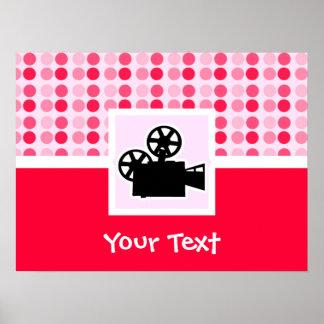 Cute Movie Camera Print