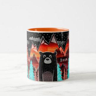 Cute mug with bear
