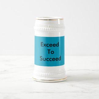 cute mug with inspiring message