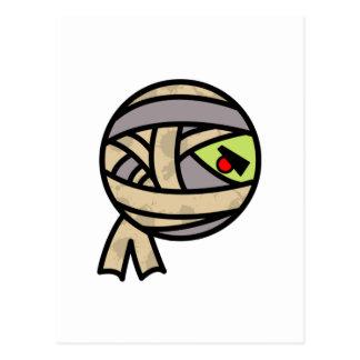 cute mummy design post card